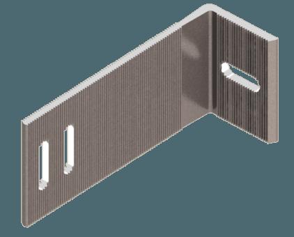 кронштейн фасадный опорный алюминиевый